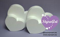 Styropor Herz Styrofoam heart Dummy