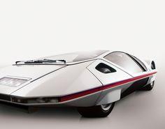 1970 Ferrari Modulo, designed by Pininfarina.