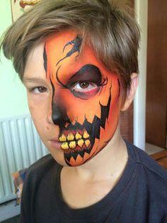 Pumpkin skull