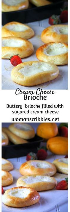 Cream Cheese brioche are filled with a creamy and citrus cream cheese filling in the center making each bite of the brioche so fresh and decadent.