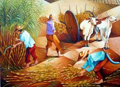 Damião Martins - série pintores brasileiros   Templo Cultural Delfos