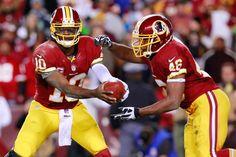 RGIII & Alfred Morris // Washington Redskins