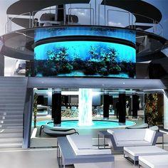 Yacht Design, Dream Home Design, Modern House Design, Luxury Yacht Interior, Luxury Cars, Luxury Travel, Luxury Auto, Dream Mansion, Luxury Homes Dream Houses