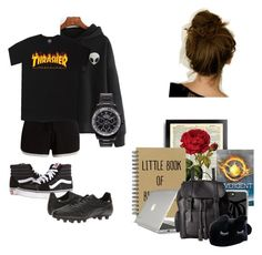 Untitled #10 by maggsxix on Polyvore featuring polyvore, Pepper & Mayne, Vans, Diadora, Dr. Martens, Speck, Mad Collections, Casetify, fashion, style and clothing