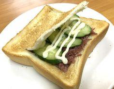 【誰も知らない伝統レシピ】大正生まれのジイさん考案 『コンビーフのサンドイッチボックス』が異常にウマい / テキトーに作っても激ウマにしかならない