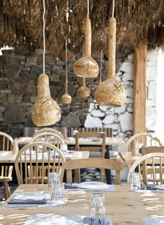 Beautiful beach restaurant. Alemagou is a bar and restaurant set beautifully on the sand of Ftelia Beach on the Greek island of Mykonos.