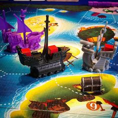 Black Fleet! Black Friday deal from @boardgameguru ! Happy Early Christmas to me First game has gone down well with the family! Nice pick up & deliver mechanic with plenty of player interaction. #blackfleet #pirateships #Caribbean #merchantships #familygames #pirates #navy #christmasboardgames #blackfridaygiftsforme #treasure #iftt