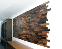 Unique Solid Rosewood Wall Panel By Sergio Rodrigues