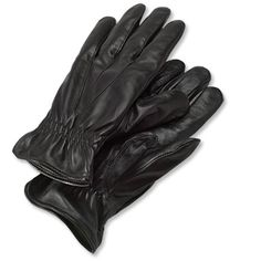 Joe: Orvis lambskin leather and cashmere gloves  HK5R8H