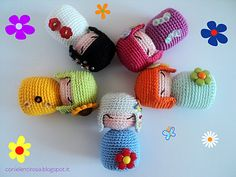 Free Amigurumi Kokeshi Doll Patterns : Kokeshi dolls original suncatcher craft eyes free amigurumi