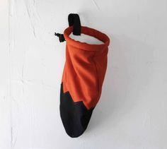 Foxy Tail - Rock Climbing Chalk Bag uhh this would be freakin adorable hanging by your bum *_*