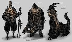 Feng Zhu Design: Characters Silhouettes