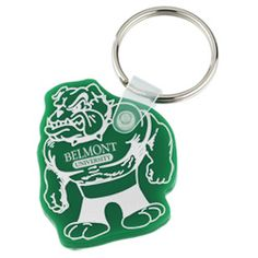 These custom key tags work like a dog to promote your brand!