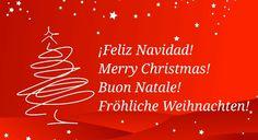 ¡Feliz Navidad! Merry Christmas! Buon Natale! Fröhliche Weihnachten!