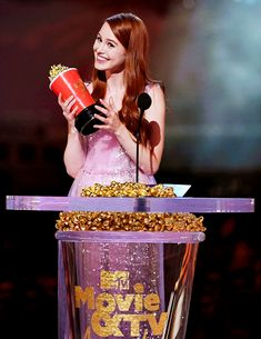 Madelaine Petsch wins Scene Stealer Award at MTV Movie & TV Awards! (June 18)