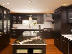 Photo of Brown Kitchen project in Bellevue, WA by NW Home Designers
