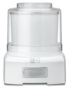 I don't know anyone that uses this, but I would definitely have one in the future.  Just make sure to have an additional freezer bowl.    Cuisinart ICE-21 Frozen Yogurt-Ice Cream & Sorbet Maker, White by Cuisinart, http://www.amazon.com/dp/B003KYSLMW/ref=cm_sw_r_pi_dp_4162pb1WJKVK1