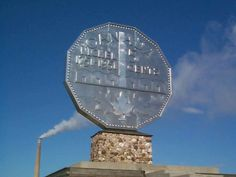 The Big Nickel, Sudbury, Ontario, Canada Canadian Things, I Am Canadian, Canadian History, Local History, Places To Travel, Places To Go, Canada Eh, South Of The Border, Roadside Attractions