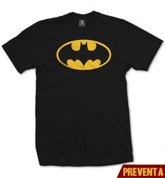 """Camiseta Logo Batman ""  Niño  disponible en www.kingmonster.com.mx"