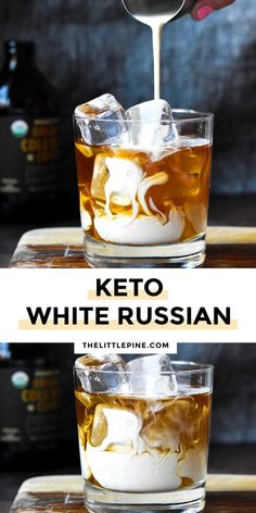 *NEW* How to make a simple, clean ingredient, creamy Keto White Russian with all the traditional flavors without the additional junk! Coffee, booze and cream, here we come! #lowcarbwhiterussian #ketowhiterussian Low Carb Cocktails, Holiday Cocktails, Alcohol Drink Recipes, Mojito Alcohol, Keto Holiday, Keto Drink, Keto Diet For Beginners, Keto Snacks, Keto Foods