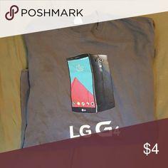 Sprint LG g4 Grey men's LG g4 by sprint shirt Shirts Tees - Short Sleeve