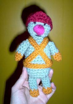 Doozer Doll - Free Amigurumi Pattern here: http://wickedstitches.insanejournal.com/1263.html