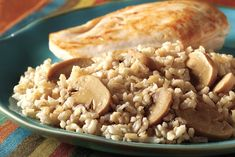 Instant brown rice slashes the prep time of this easy, savory risotto. And did we mention it's a Healthy Living recipe, too?