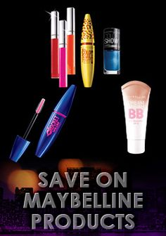 Save on Maybelline Products