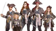 Top 10 Family Costume Ideas For 2017 Pirate Life, Family Costumes, Halloween 2017, Costume Ideas, Pirates, Tops, Shell Tops