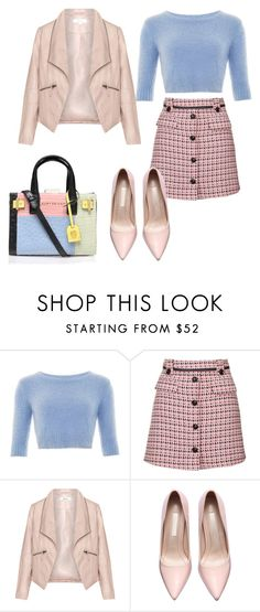 """""""outfit #10"""" by ary-polyvore-outfits ❤ liked on Polyvore featuring Topshop, Zizzi, Kurt Geiger, women's clothing, women's fashion, women, female, woman, misses and juniors"""