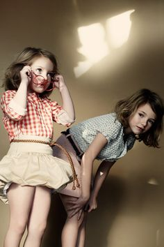 Vintage clothes for little kids is SO in! Vintage inspired clothes is in for anyone really...