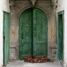 Green Door by Jana Lily Kleisnerova