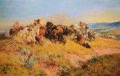 Buffalo Hunt #40 - LE | cmrussell.org