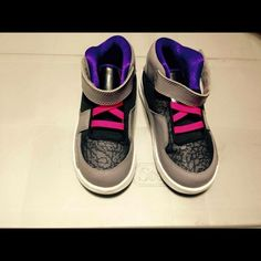 Girls Nike Jordan's size 9c. Girls Nike Jordan's size 9c. Worn only once. Toddler girls size. Excellent condition. Nike Shoes Sneakers
