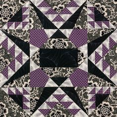 Abby's Star by Carolyn McCormick: Quiltmaker's 100 Blocks Blog Tour on Quilty Pleasures.