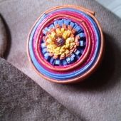 coiled paper broach