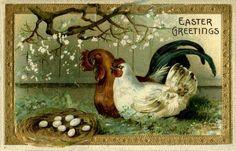 Old Easter Postcards
