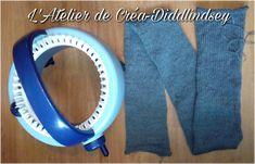Circular Knitting Machine, Loom Knitting Stitches, Voici, Blog, 3d, Cat Scarf, Spool Knitting, Blogging, Knitting Stitches