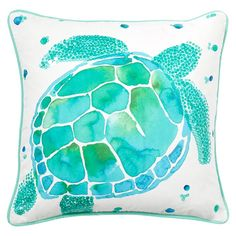 Sea Creature Pillow Cover | PBteen