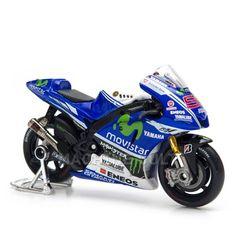 Miniatura Yamaha Movistar Moto GP 2014 - Maisto 1:18 - Machine Cult | Loja online especializada em camisetas, miniaturas, quadros, placas e decoração temática de carros, motos e bikes
