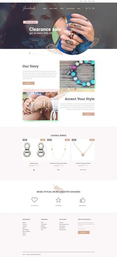 Jewelry Responsive PrestaShop Theme #63337