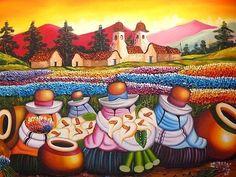 Las Cholas - Cuadros Peruanos