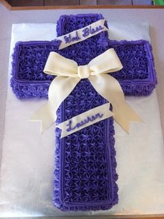 Confirmation Cake By RI_mamacakes on CakeCentral.com