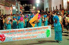 Carnaval 2012 em Iguape-SP no Vale do Ribeira - Brasil
