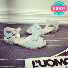 20c86dee5728e Xz 0057 2015 Summer New Hit Color Bow Female Large Child Princess Sandals  Children Sandals Students Girls Shoes Sandals Best Toddler Boots Cheap Kid  Shoes ...