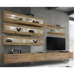 Orren Ellis Waconia Floating Entertainment Center for TVs up to 70"
