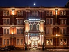 Exeter Mercure Exeter Rougemont Hotel United Kingdom, Europe Stop at Mercure Exeter Rougemont Hotel to discover the wonders of Exeter. Both business travelers and tourists can enjoy the hotel's facilities and services. Free Wi-Fi in all rooms, 24-hour security, daily housekeeping, fax machine, photocopying are there for guest's enjoyment. Designed for comfort, selected guestrooms offer television LCD/plasma screen, heating, wake-up service, desk, telephone to ensure a restful ...