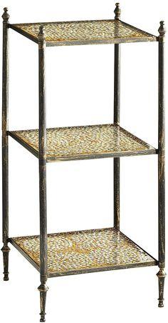 #pier1.com                #table                    #LaDesta #Tier #Mosaic #Accent #Table               LaDesta - 3 Tier Mosaic Accent Table                                          http://www.seapai.com/product.aspx?PID=1599528