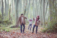 Sesión de fotos familiar en otoño en el bosque en barcelona,  274km, fotografia, otoño, tardor, barcelona