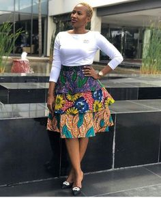 Most stylish collection of ankara short gown styles of 2019 trending today, try these short ankara gown styles African Print Skirt, African Print Dresses, African Print Fashion, Trendy Ankara Styles, Ankara Gown Styles, Ankara Gowns, African Attire, African Wear, Ankara Rock